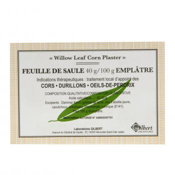 Feuille de saules 40 g/100 g - Illustration n°1
