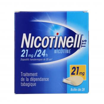 Nicotinell tts 21 mg/24 h boite de 28 patchs