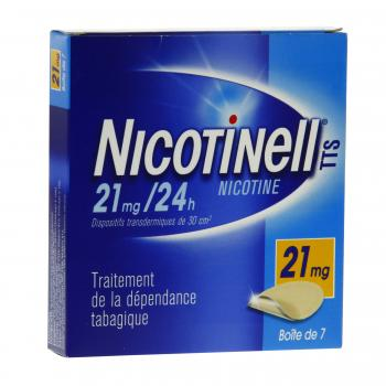Nicotinell tts 21 mg/24 h boite de 7 patchs