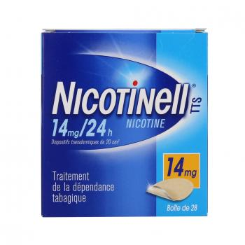 Nicotinell tts 14 mg/24 h boite de 28 patchs