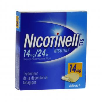 Nicotinell tts 14 mg/24 h boite de 7 patchs