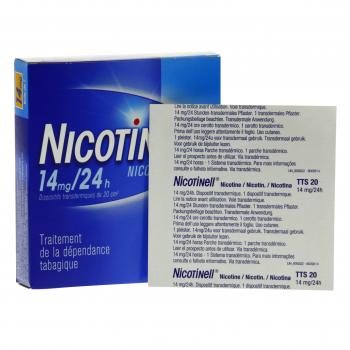 Nicotinell tts 14 mg/24 h boite de 7 patchs - Illustration n°2