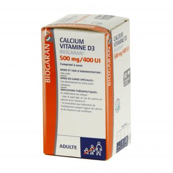 BIOGARAN Calcium vitamine d3 500mg / 400ui - Illustration n°3