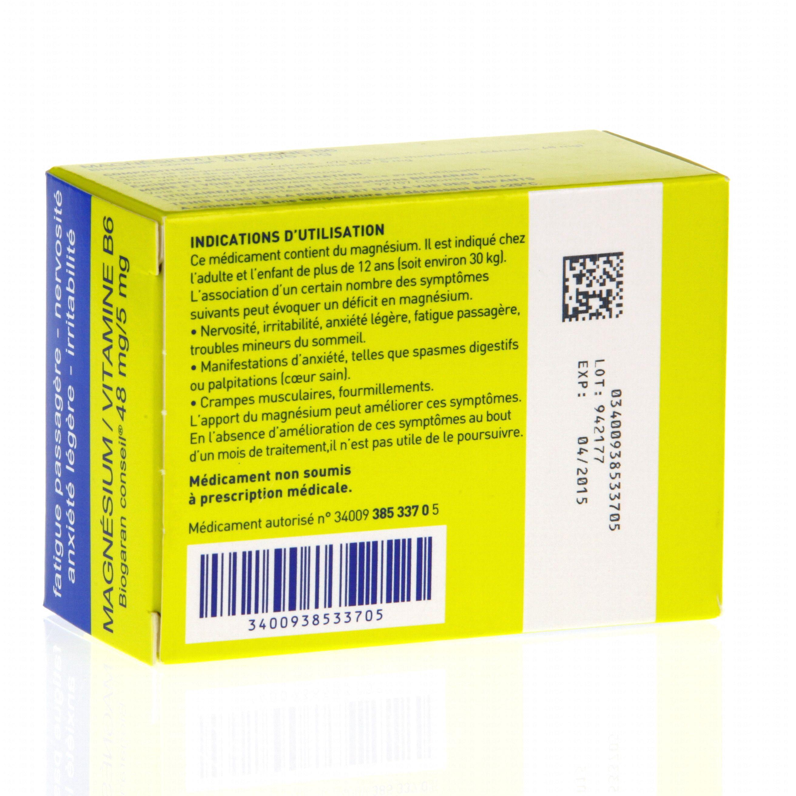 Inexium 40 effets secondaires
