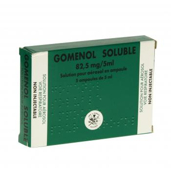 Gomenol Soluble 82,5 mg/5 ml