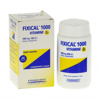 Fixical vitamine d3 1000 mg/800 u.i. - Illustration n°2
