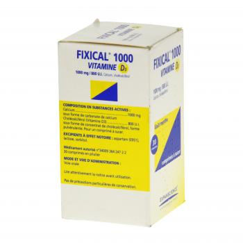 Fixical vitamine d3 1000 mg/800 u.i. - Illustration n°4