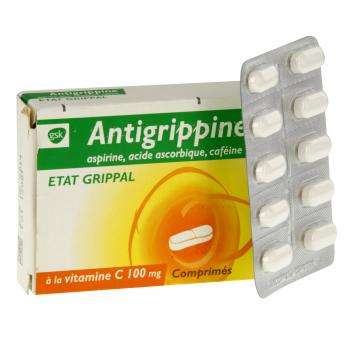 Antigrippine à l'aspirine état grippal - Illustration n°2