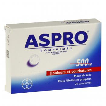 Aspro 500 mg - Illustration n°1