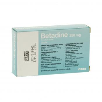 Bétadine 250 mg - Illustration n°3