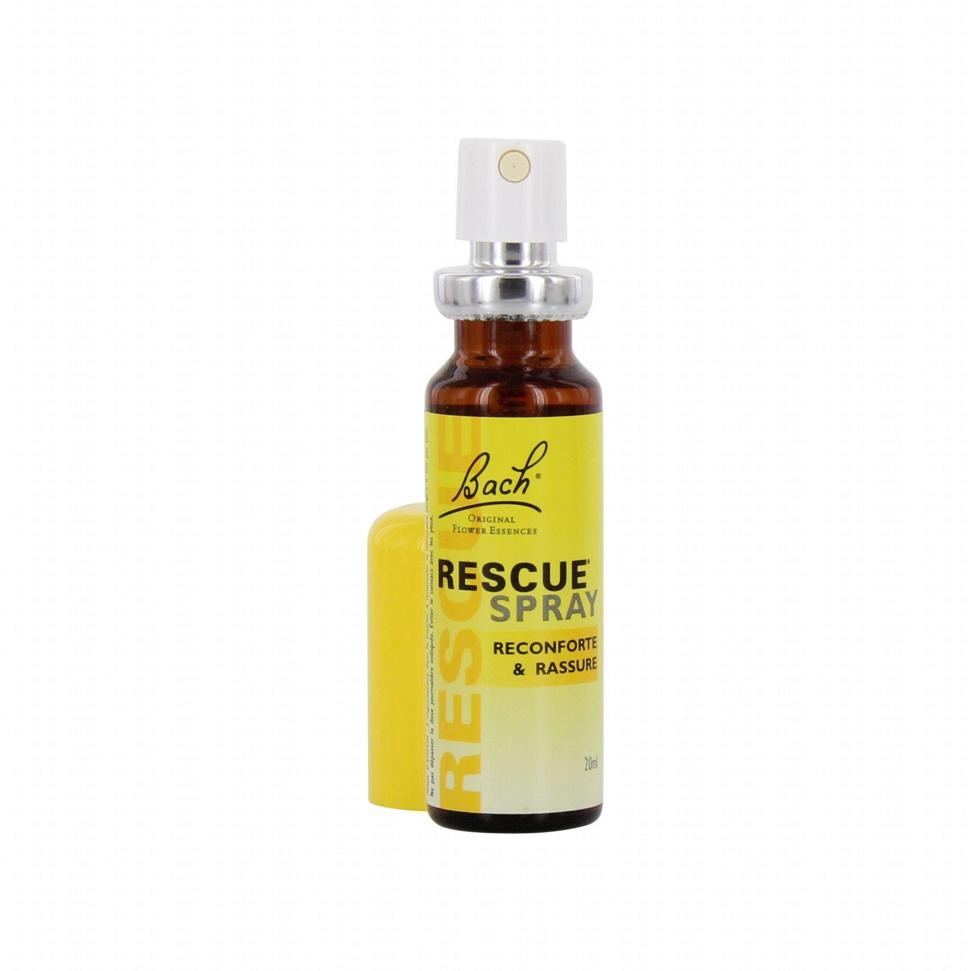 bach rescue fleurs de bach spray 20ml pharmacie en ligne prado mermoz