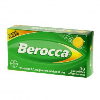 Berocca sans sucre effervescents - Illustration n°1