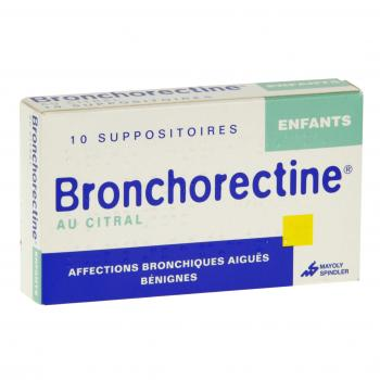 Bronchorectine au citral enfants
