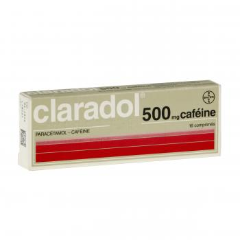 Claradol 500 mg caféine - Illustration n°1