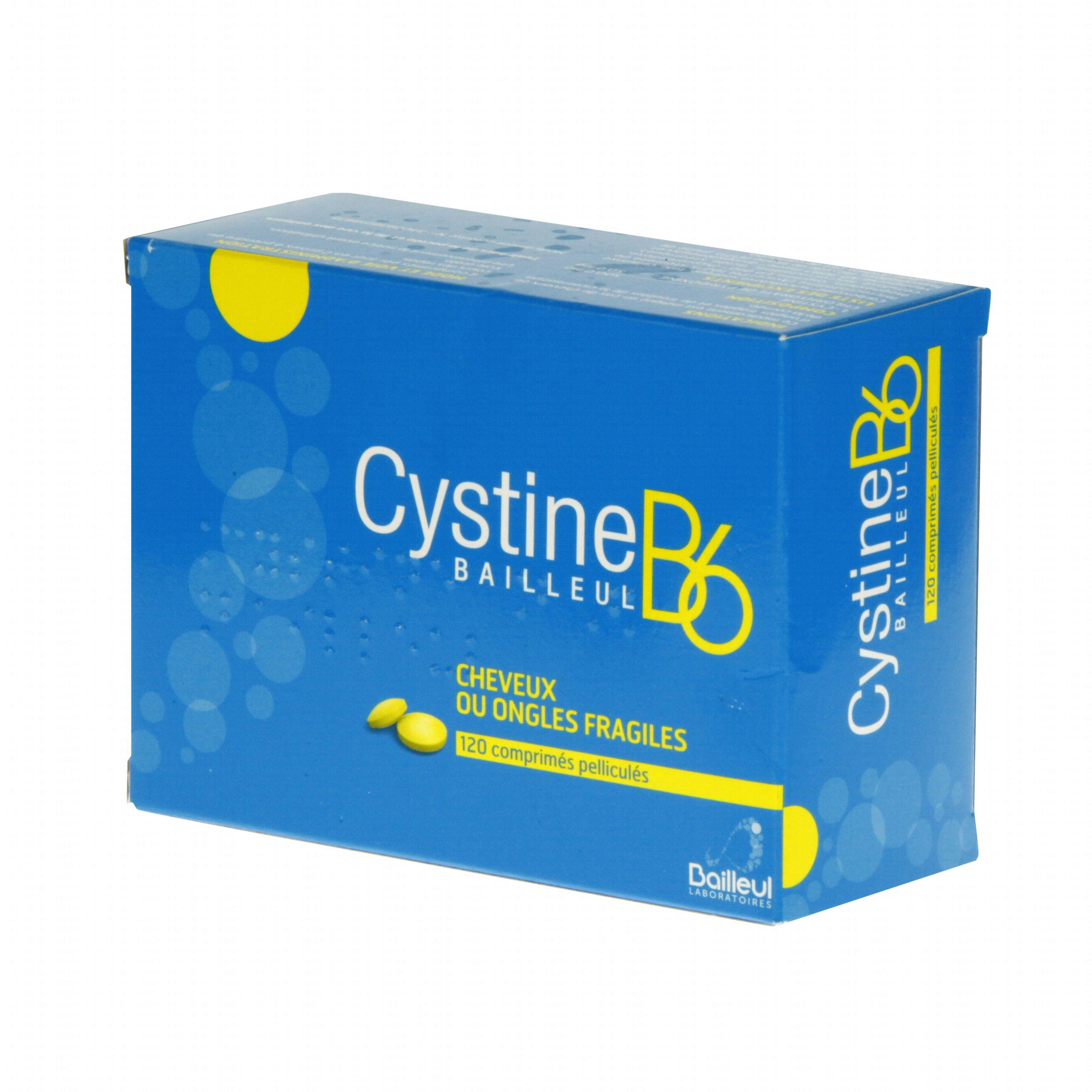 Cystine b6 boîte de 120 comprimés Bailleul (médicament