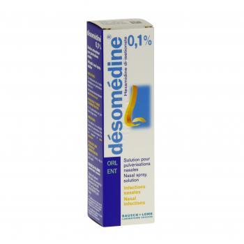 Désomédine 0,1 pour cent flacon de 10 ml Bausch Lomb