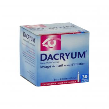 Dacryum solution pour lavage ophtalmique