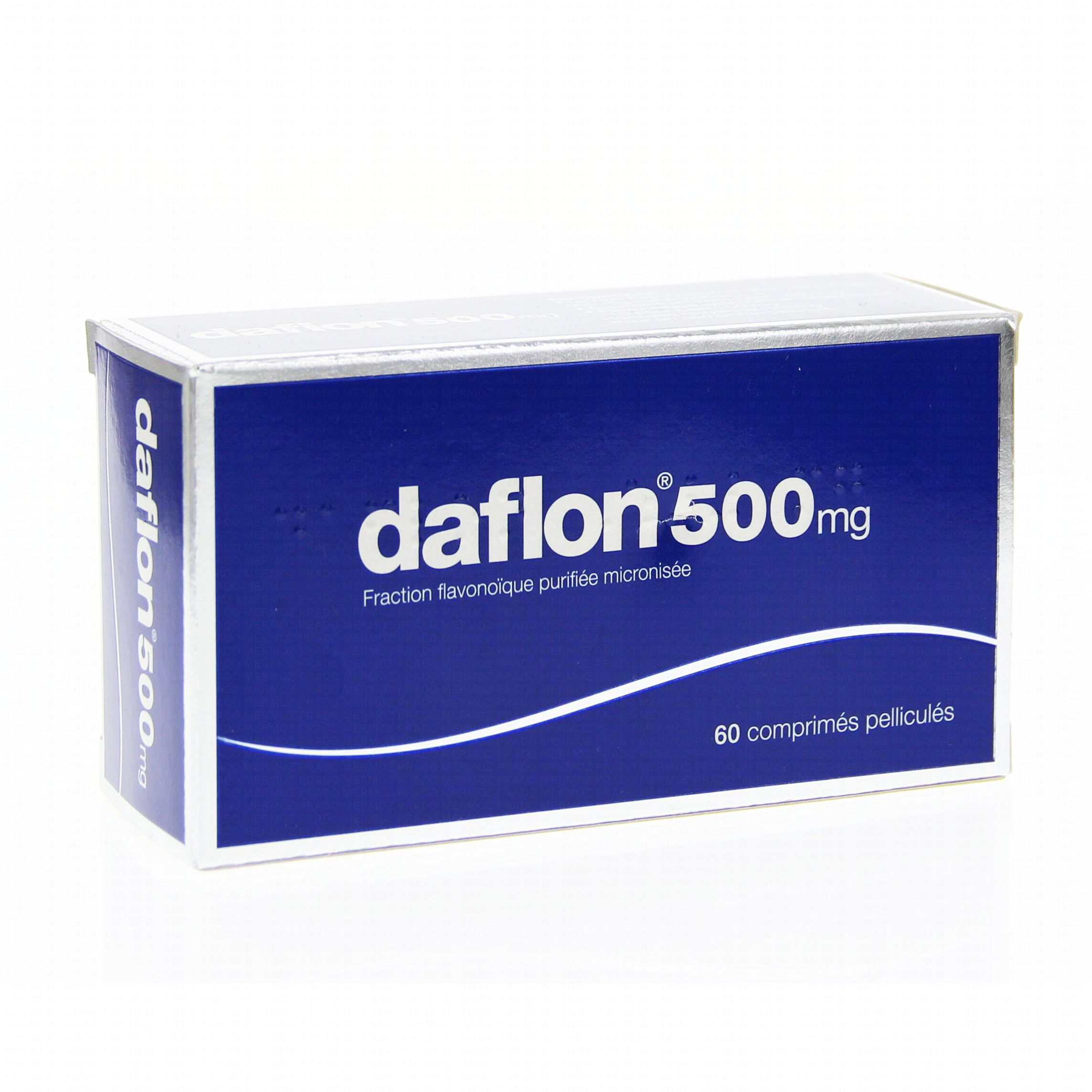 Daflon 500mg boîte de 60 comprimés Biogaran (médicament