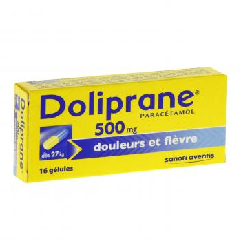 Doliprane 500 mg - Illustration n°1