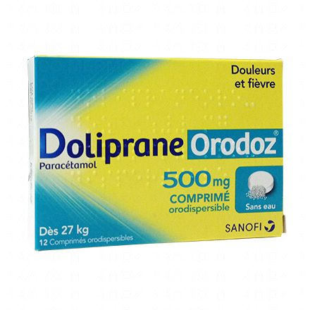 Doliprane Orodoz 500mg - Illustration n°1