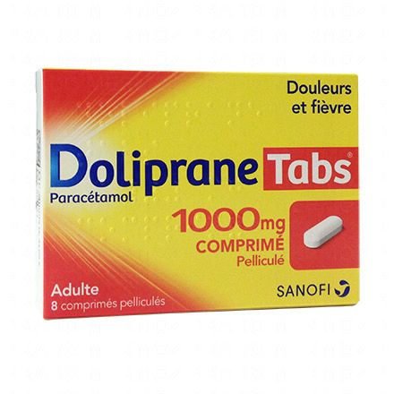Doliprane Tabs 1000 mg - Illustration n°1