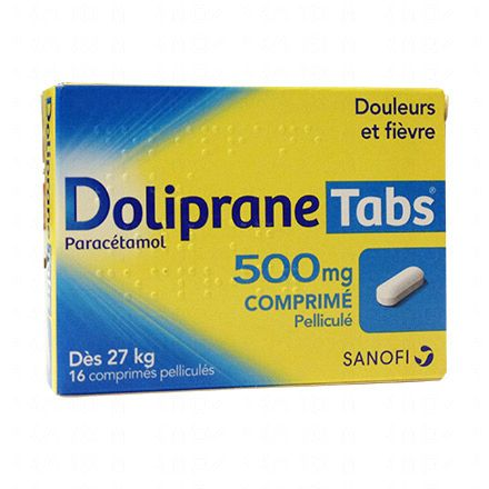 Doliprane Tabs 500 mg - Illustration n°1