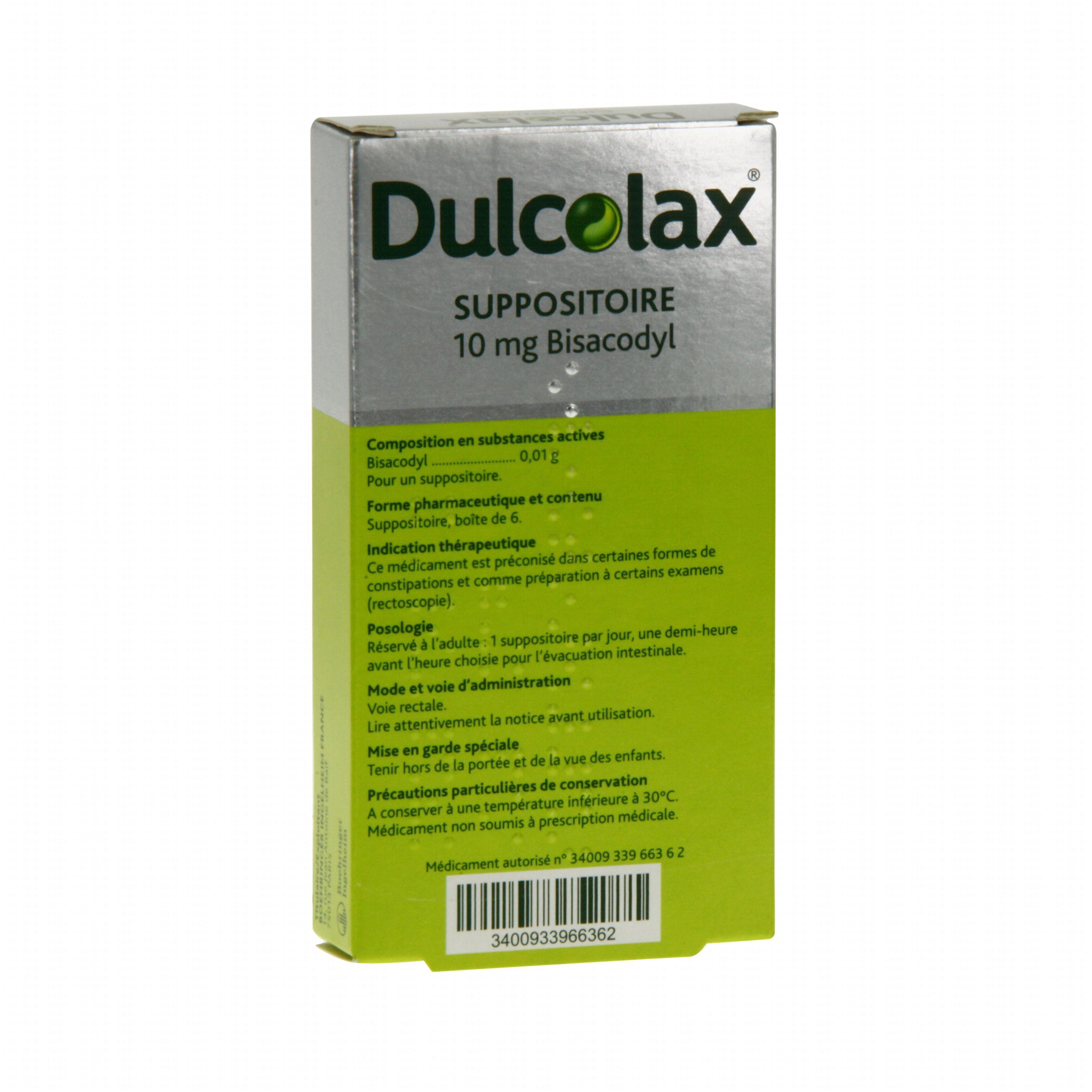 Suppositoire De Dulcolax