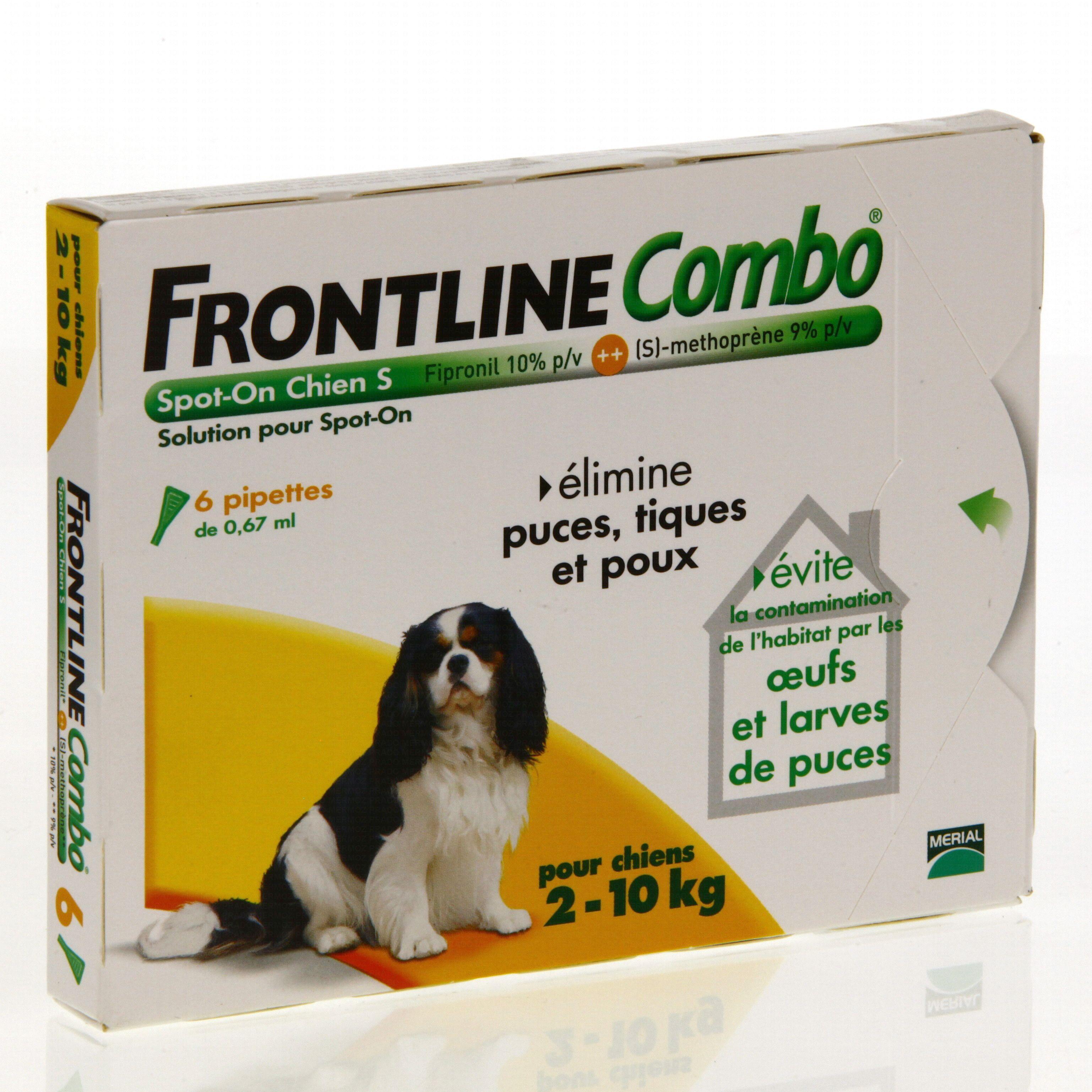 Prix frontline combo - Frontline combo chat pas cher ...
