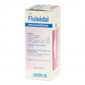 Fluisédal sans prométhazine flacon de 250 ml - Illustration n°4