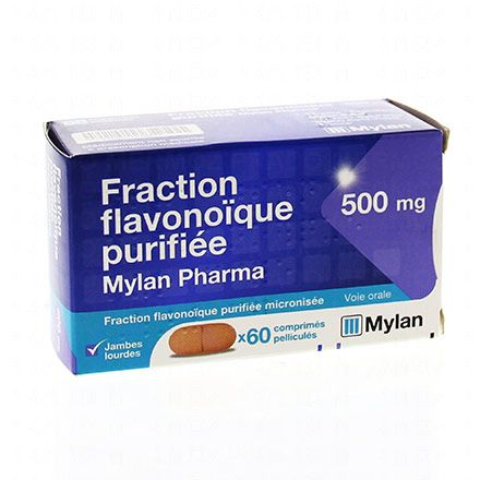 Fraction flavonoïque purifiée 60 comprimés - Illustration n°1