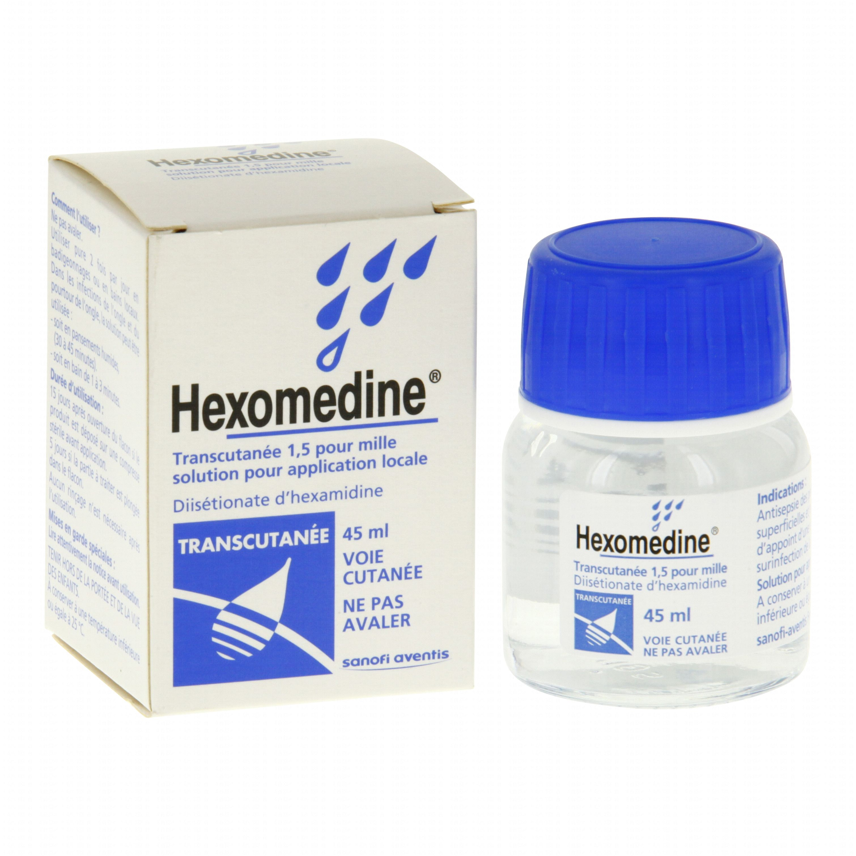 hexomedine transcutanee