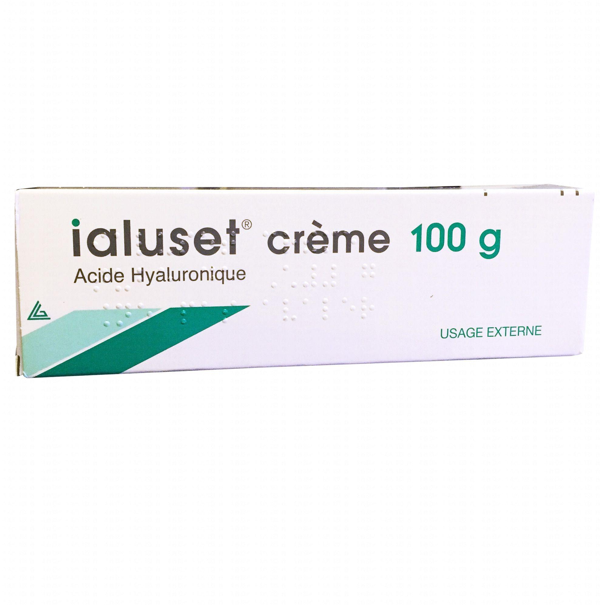 ialuset crème acide hyaluronique