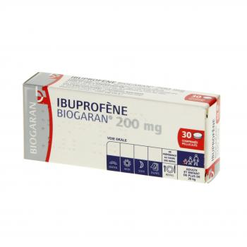 BIOGARAN Ibuprofène 200mg - Illustration n°1