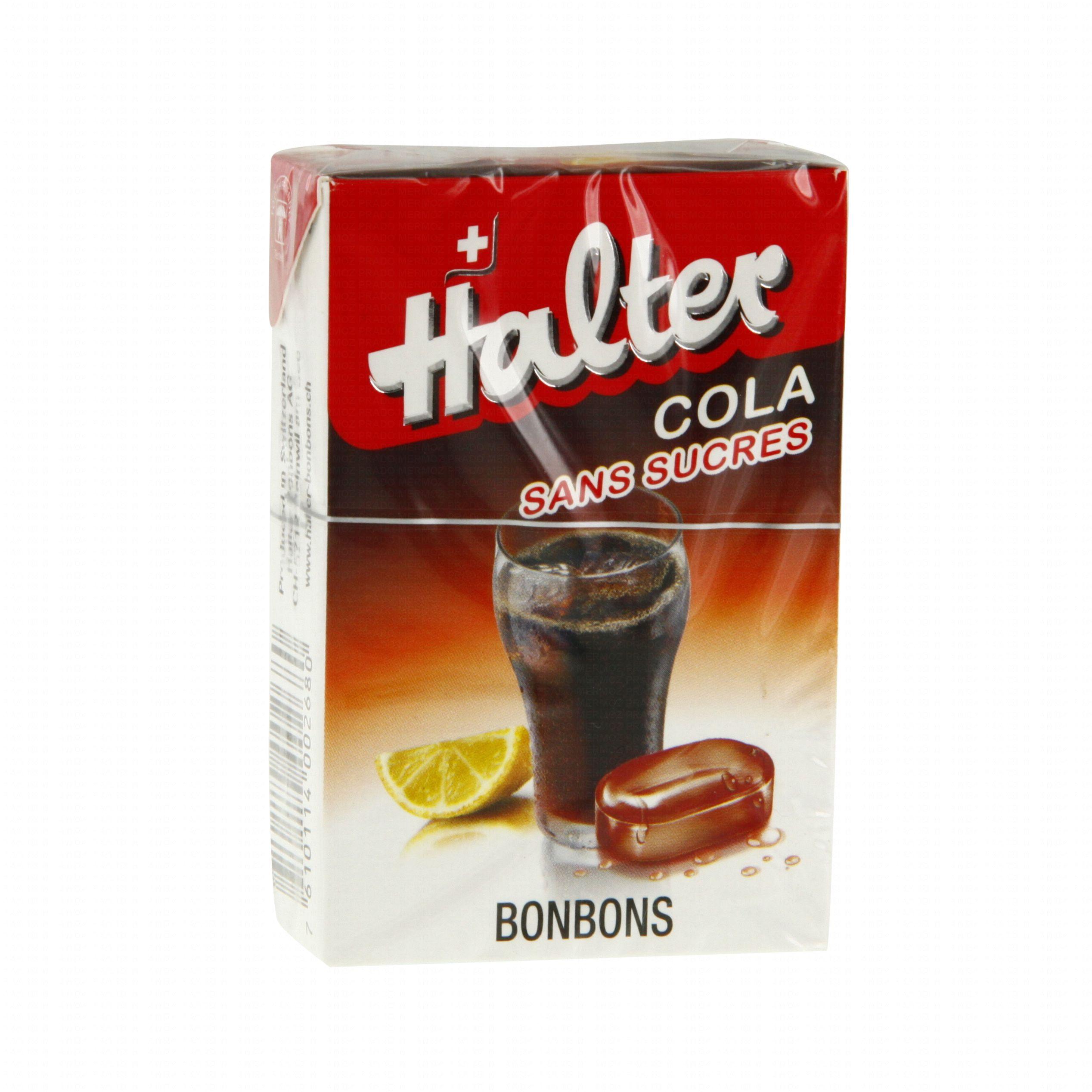 Le comptoir du pharmacien bonbon halter cola sans sucre for Le comptoir du meuble bruxelles