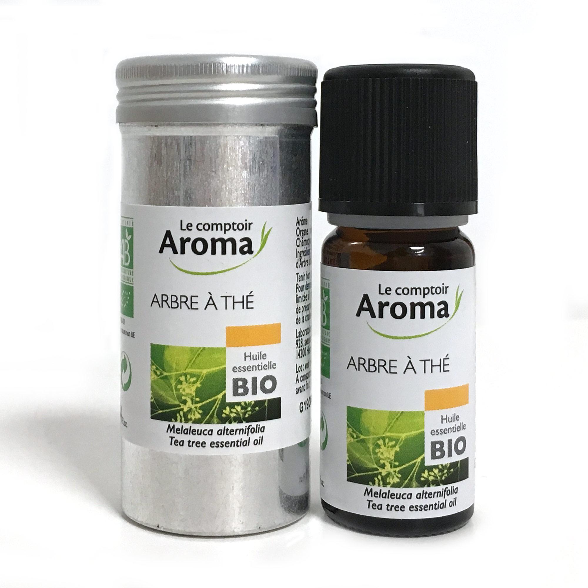 Le comptoiraroma huile essentielle d 39 arbre th bio flacon 10ml pharmacie en ligne prado mermoz - Huile essentielle d arbre a the ...