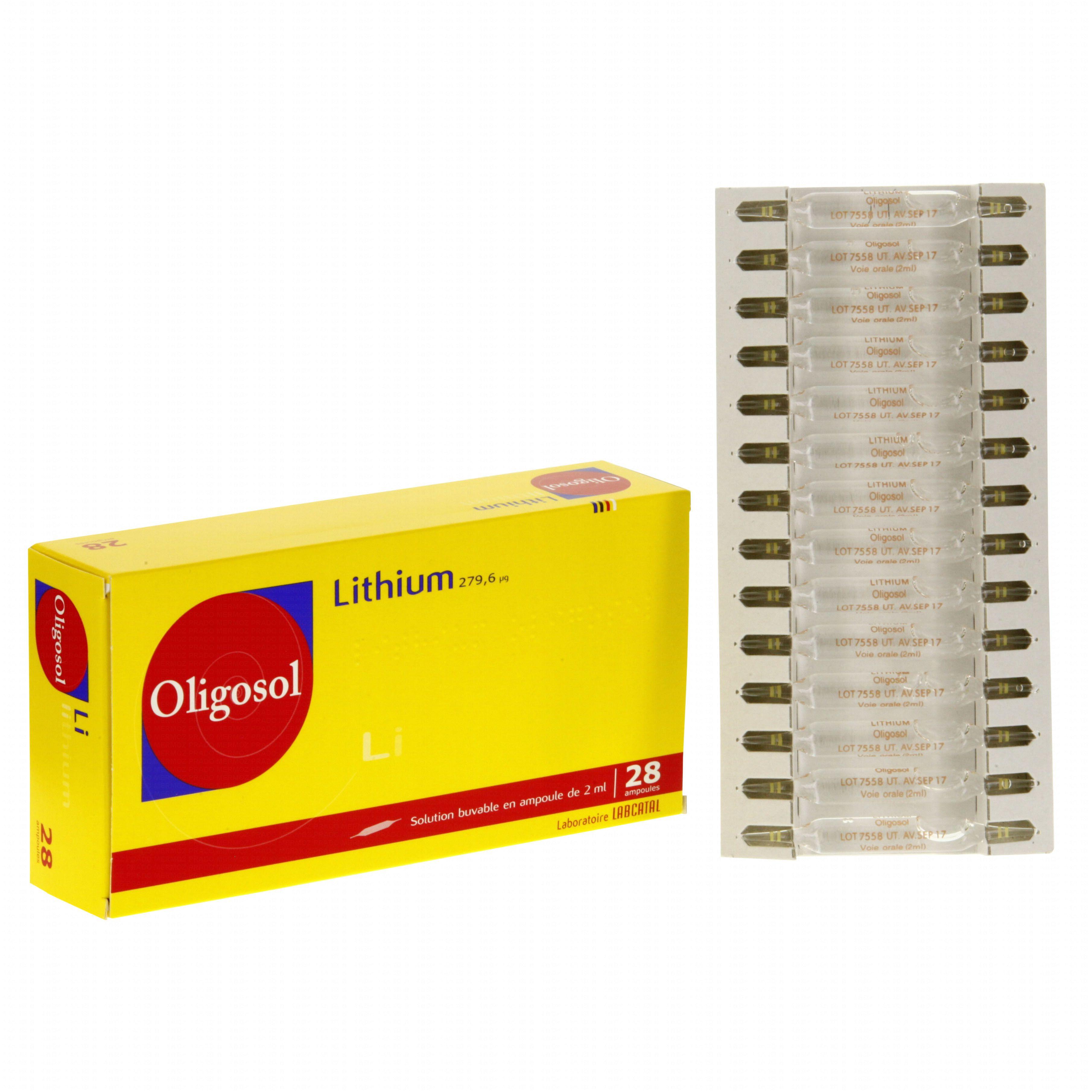 lithium ampoule