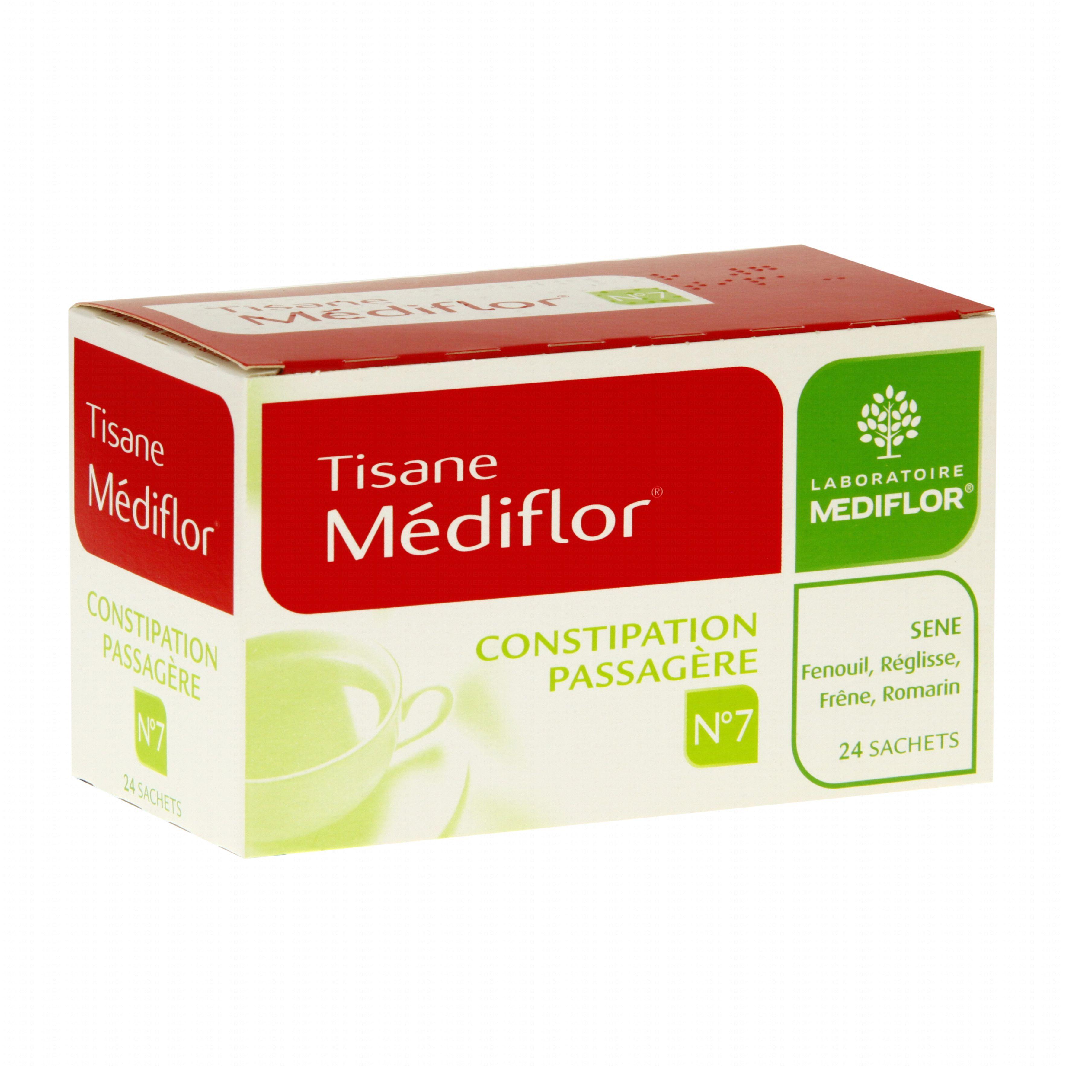 Médiflor n°7 constipation passagère boîte de 24 sachets