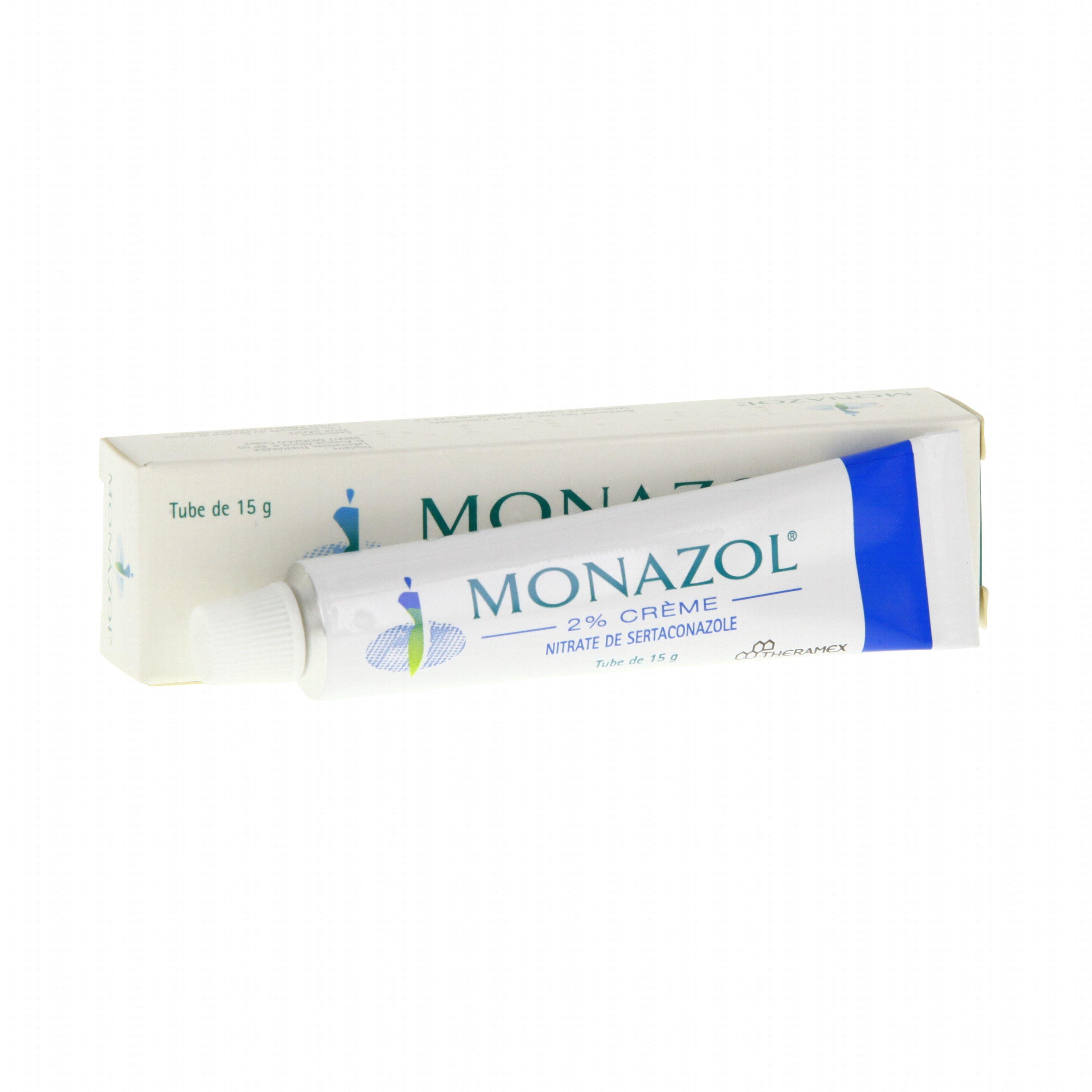 Monazol 2 pour cent tube 15g Theramex (médicament conseil