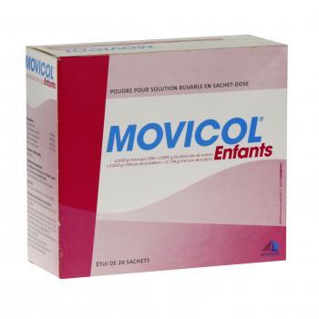 Movicol enfants boîte de 20 sachets Norgine (médicament