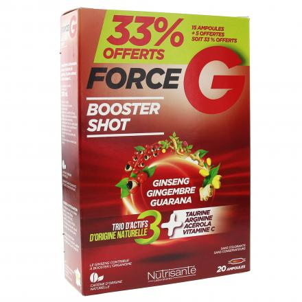 NUTRISANTÉ Force G power max boîte de 20 ampoules - Illustration n°2