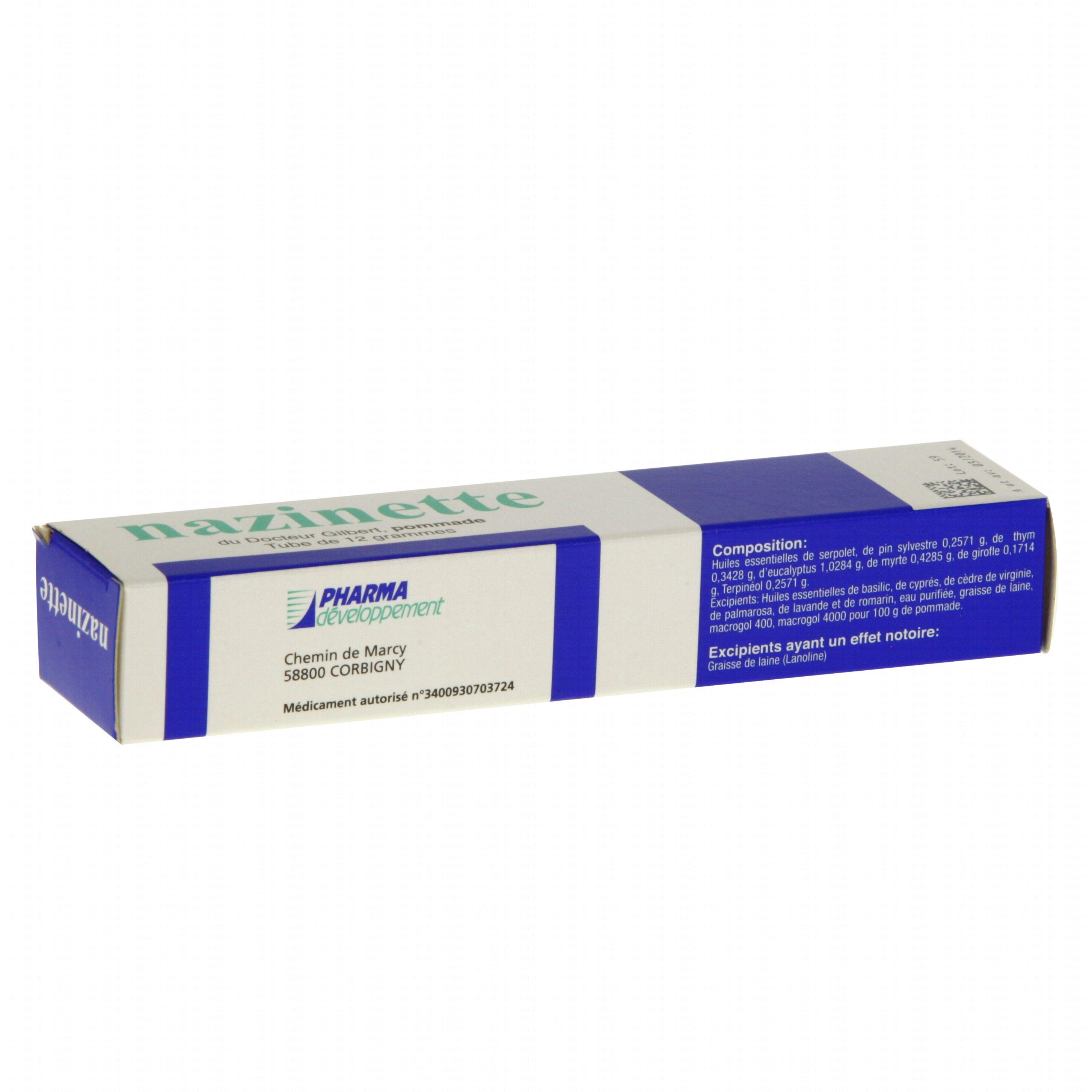 Nazinette du docteur gilbert tube de 12 g Pharma