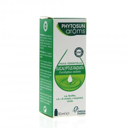 PHYTOSUN AROMS Huile essentielle d'Eucalyptus radiata flacon 10ml  - Illustration n°2