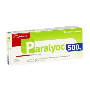Paralyoc 500 mg - Illustration n°1