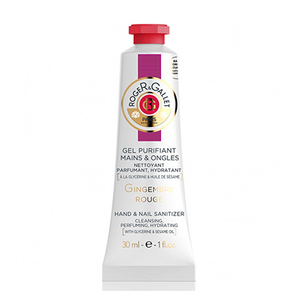 ROGER & GALLET Gel purifiant mains et ongles au gingembre rouge tube 30ml