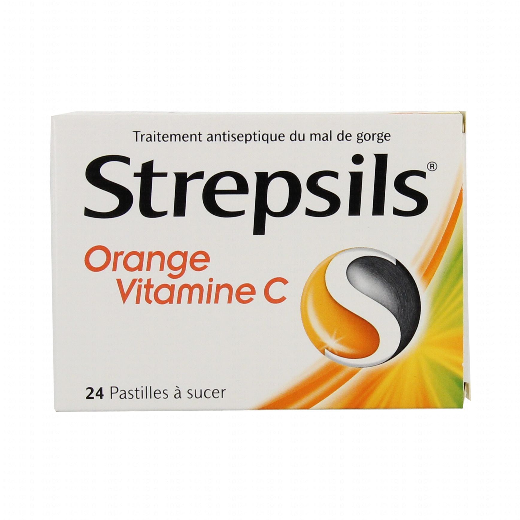 strepsils orange vitamine c bo te de 24 pastilles reckitt m dicament conseil pharmacie en. Black Bedroom Furniture Sets. Home Design Ideas