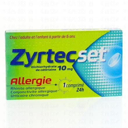 Zyrtecset 10 mg - Illustration n°1