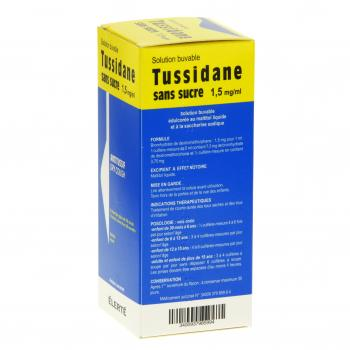 Tussidane 1,5 mg/ml sans sucre flacon de 250 ml - Illustration n°3