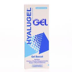 EXPANSCIENCE Hyalugel gel buccal tube 20ml