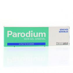 Parodium gel gingival pour gencives sensibles tube 50ml