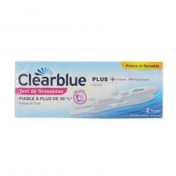 CLEARBLUE Plus  test de grossesse lot de 2